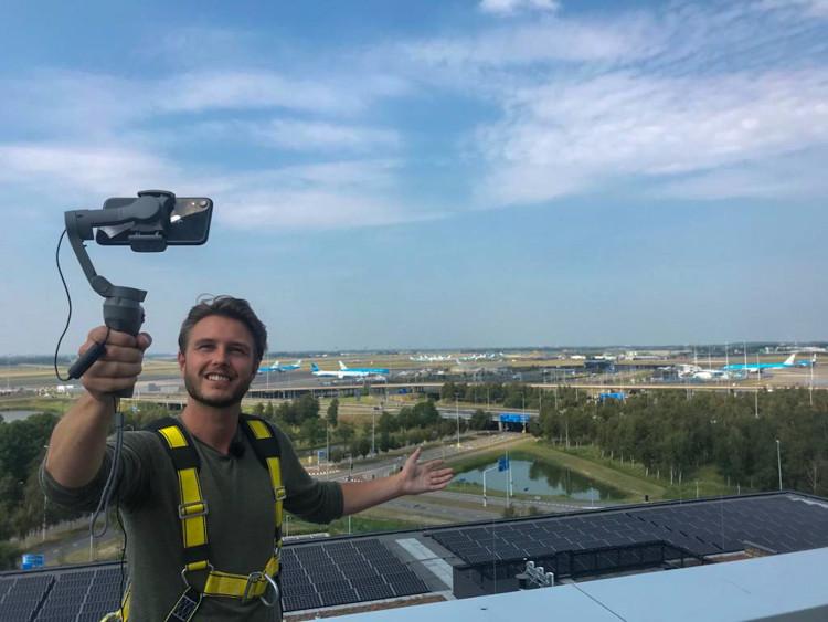Video: Slimme technologieën op Schiphol CBD
