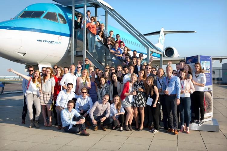 Young Professionals Event: Netwerken met uitzicht op het platform