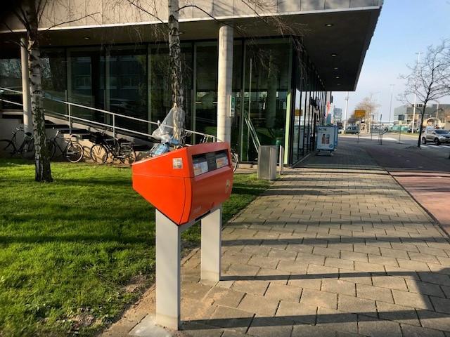 Nieuwe locatie brievenbus Schiphol Oost