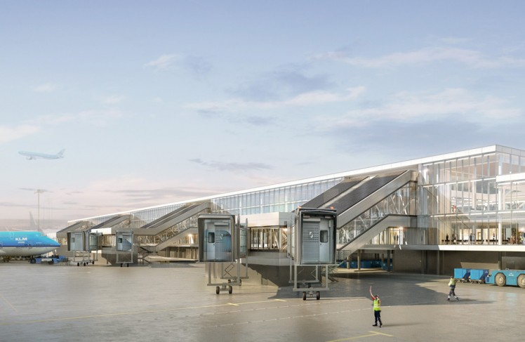 Amsterdam Airport Schiphol is getting ready for the future