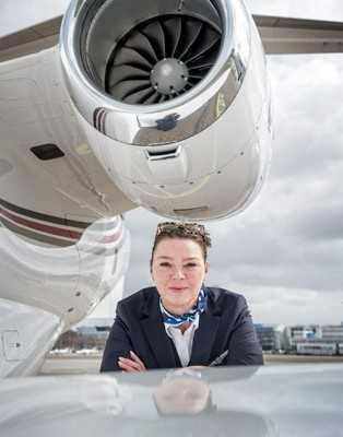 Nicole Sammels: Captain voor de VIPs