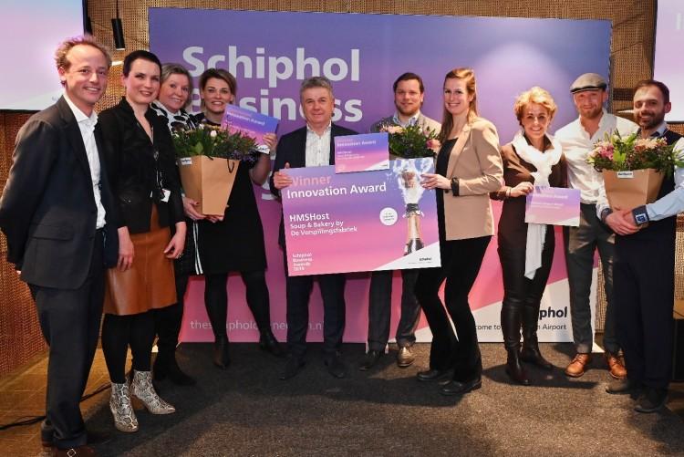 Winnaars Schiphol Business Awards 2019 bekend