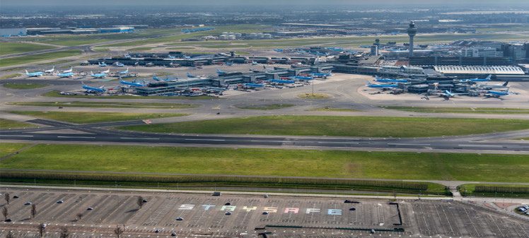 A list of heartwarming initiatives by Schiphol-based companies